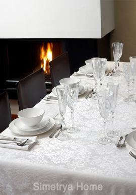 Table cloths Blanc de Blanc