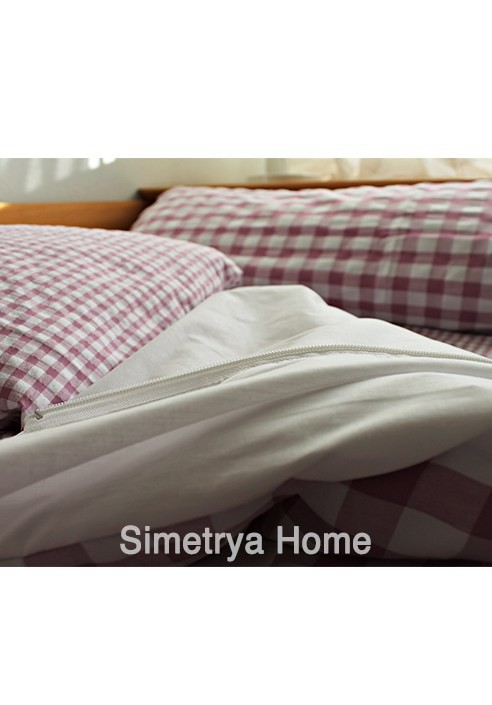 Saco n rdico infantil capri cuadro vichy ropa de cama infantil simetrya Sacos nordicos ninos